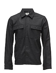 Franco shirt - DARK GREY MELANGE