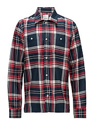 Franco shirt - RED CHECK