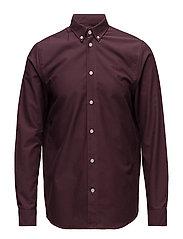 Timothy shirt - BURGUNDY