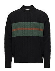 Calvin sweater - BLACK