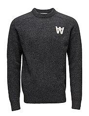 Kevin sweater - DARK GREY MELANGE