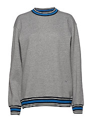 Nathan sweatshirt - GREY MELANGE