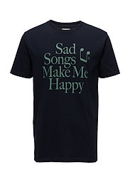 Make Me Happy T-shirt - NAVY
