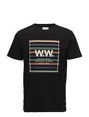 WW Stripes T-shirt - BLACK