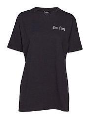 Fine T-shirt - BLACK