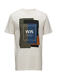 WW Quilt T-shirt - OFF-WHITE