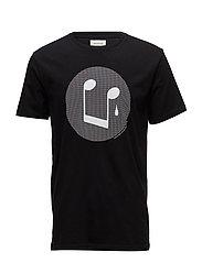 Sad Song Smiley T-shirt - BLACK