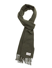Karlo scarf - DARK GREEN