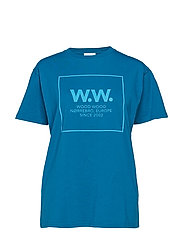 WW Square T-shirt - TEAL
