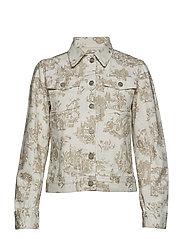 June jacket - OFF-WHITE
