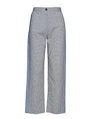 Althea trousers - KHAKI CHECK