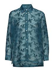 Carol shirt - PETROL