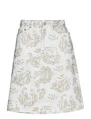 Ynes skirt - OFF-WHITE