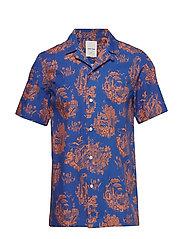 Brandon shirt - TOURIST BLUE