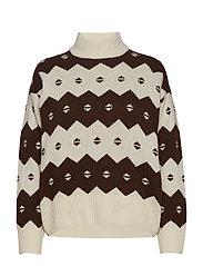 Sonia sweater - OFF-WHITE JACQUARD