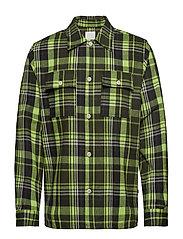 Franco shirt - GREEN CHECK