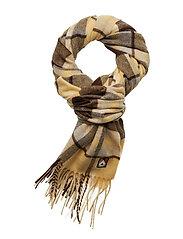 Kara scarf - YELLOW CHECK