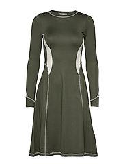 Sue dress - DARK GREEN