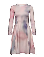 Sue dress - LILAC AOP