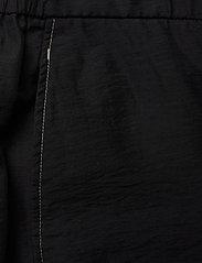 Wood Wood - Tilly trousers - bukser med brede ben - black - 2