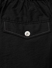 Wood Wood - Tilly trousers - bukser med brede ben - black - 4