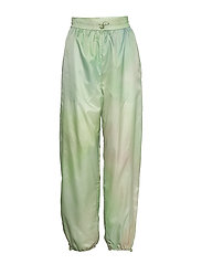 Joice track trousers - GREEN AOP