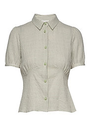 Lila shirt - GREEN CHECK