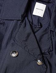 Wood Wood - Karin trench coat - trenchcoats - navy - 3