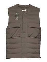 Kelvin light padded vest - MOSS