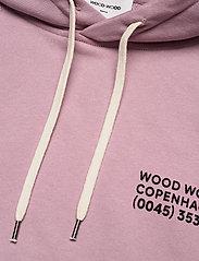Wood Wood - Fred hoodie - bluzy z kapturem - lilac - 2