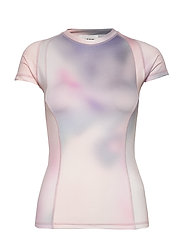 Emma T-shirt - LILAC AOP