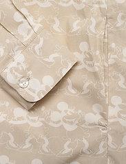 Wood Wood - Janica dress - skjortekjoler - beige aop - 3