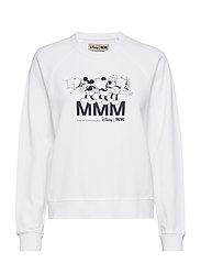 Jerri sweatshirt - BRIGHT WHITE