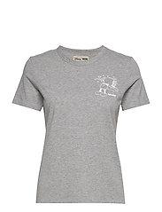 Aria T-shirt - GREY MELANGE