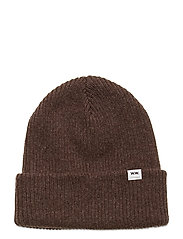 Mande beanie - DARK BROWN