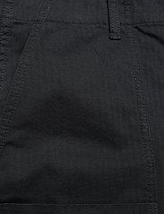 Wood Wood - Halvard trousers - cargobukser - black - 2