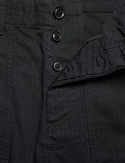 Wood Wood - Halvard trousers - cargobukser - black - 3