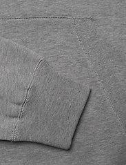 Wood Wood - Fred hoodie - basic sweatshirts - grey melange - 3