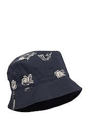 Graphic bucket hat - BLUE AOP