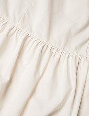 Wood Wood - Tenna poplin dress - sommerkjoler - off-white - 3