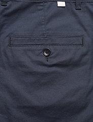 Wood Wood - Jonathan light twill shorts - chino's shorts - navy - 4