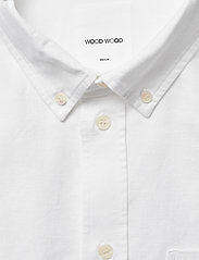 Wood Wood - Adam oxford shirt - linnen overhemden - bright white - 2