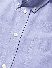 Wood Wood - Adam oxford shirt - linnen overhemden - light blue - 3