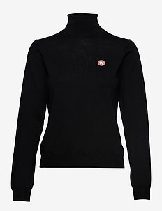 Bea turtleneck - rolkraagtruien - black