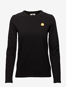 Moa long sleeve - tops met lange mouwen - black