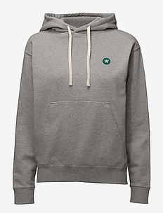 Jenn hoodie - hoodies - grey melange