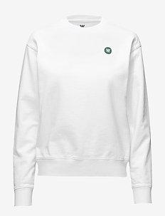 Jess sweatshirt - sweatshirts & hættetrøjer - bright white