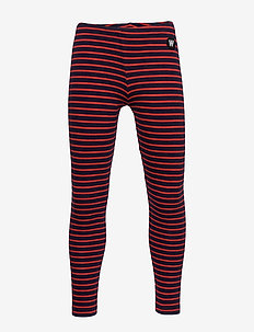 Ira leggings - leggings - navy/red stripes