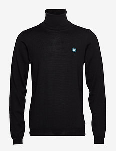 Luc turtleneck - golfy - black