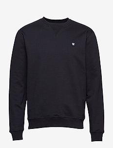 Tye sweatshirt - basic sweatshirts - black